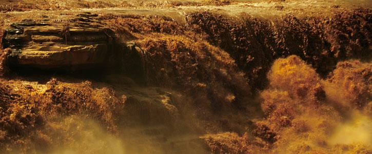 印章上的山西母亲河——黄河