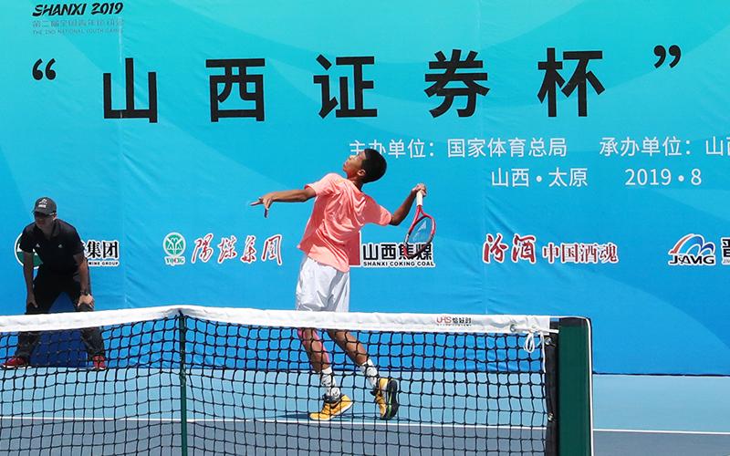 【图集】二青会网球比赛收官日 太原健儿勇夺2金